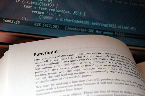 JavaScript: The Good Parts by nyuhuhuu, on Flickr
